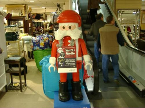 Santa at Jarrolds