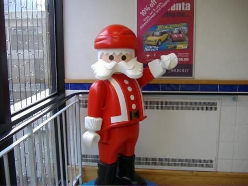 Santa is free!