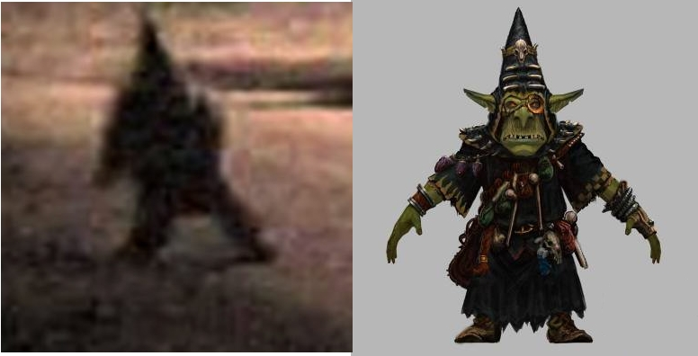The Creepy Gnome Is A Warhammer Night Goblin