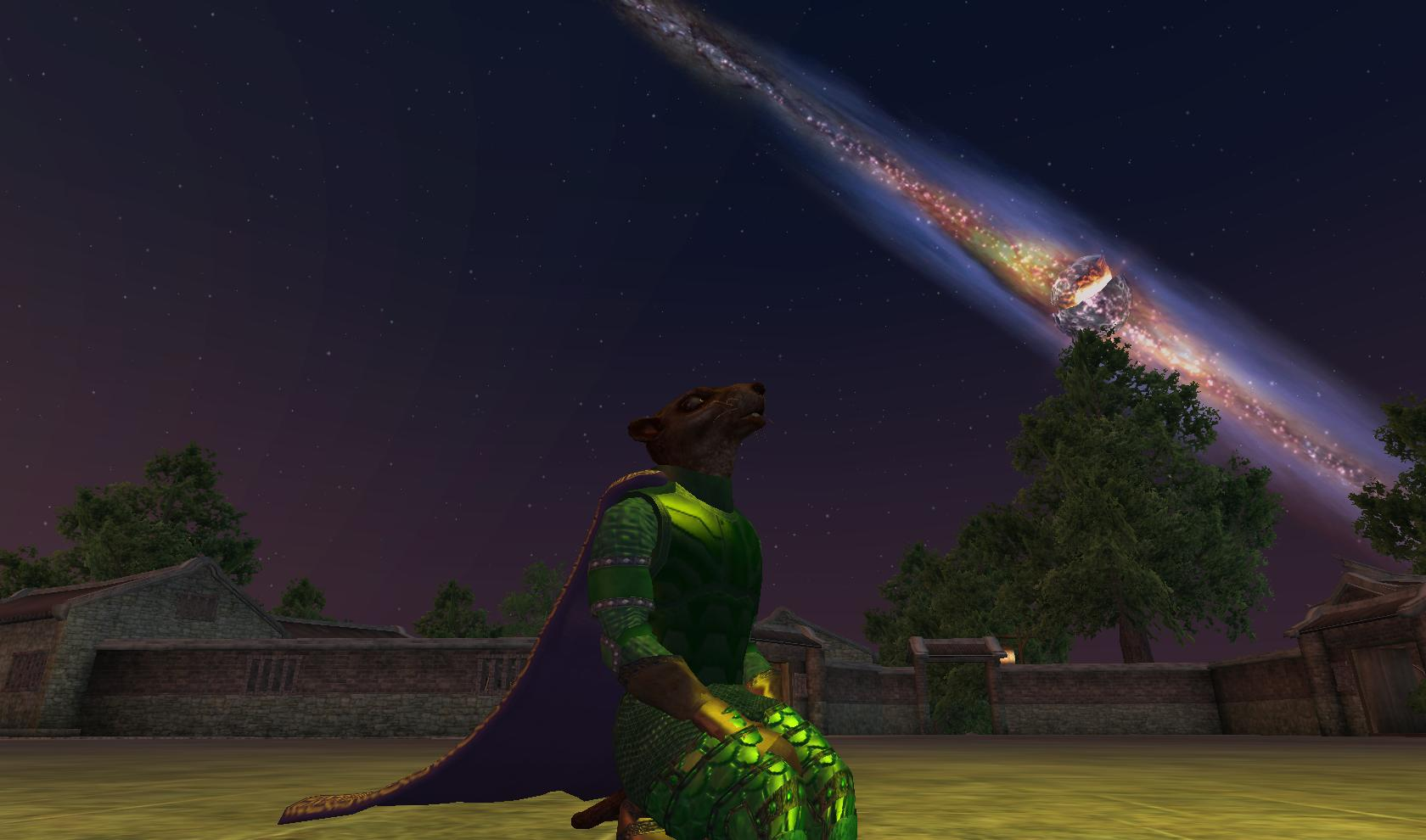 Maltheas rests, on the Isle of Mara in Everquest 2