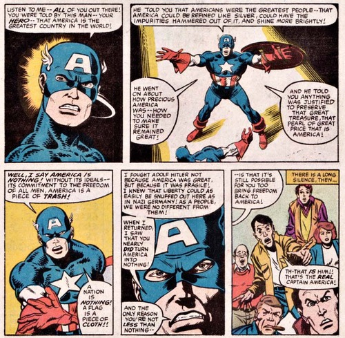 Captain America hates torture.