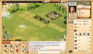 The Evony Farm Screen