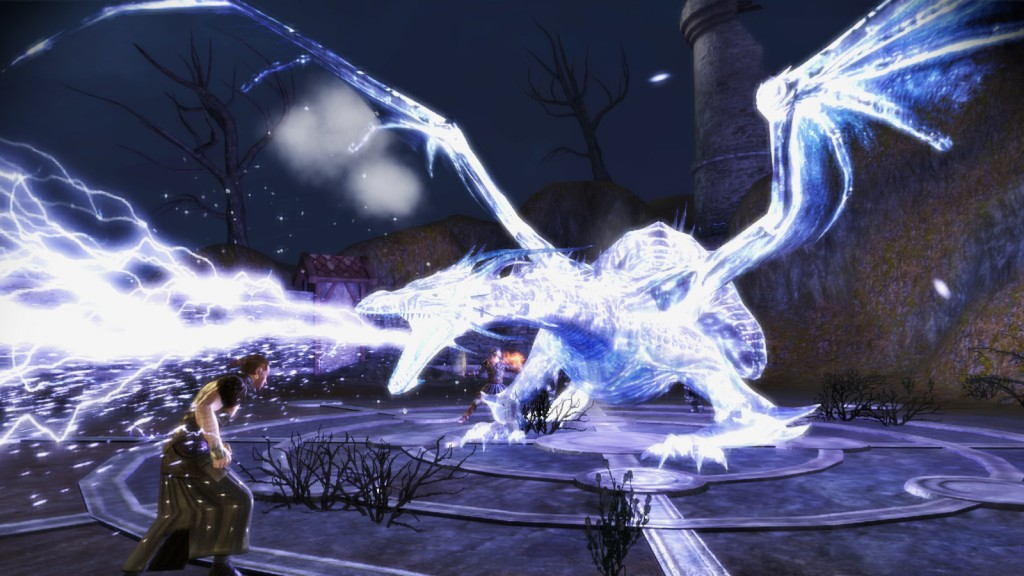 The Spectral Dragon from Dragon Age: Origins - Awakenings