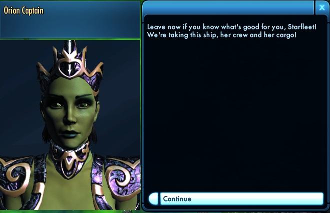 Star Trek Online Tutorial 14 Orion Captain