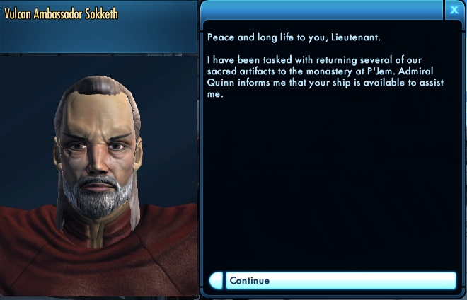 Star Trek Online Tutorial 24 Ambassador Sokketh