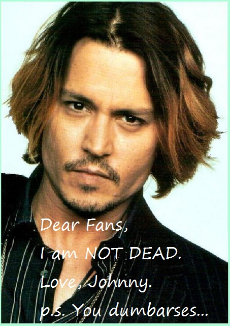 Johnny Depp Is Not Dead