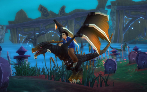 Free Realms Dragon Mount 500x313