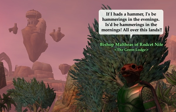 Everquest 2 – If Maltheas had a hammer  Respecing to