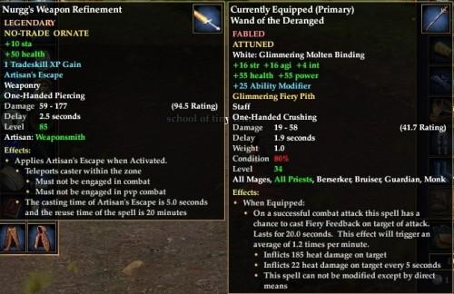 Everquest 2 Nurggs Weapon Refinement 500x324