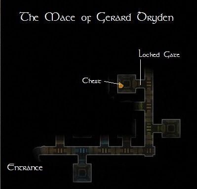 DDO Map To The Mace Of Gerard Dryden