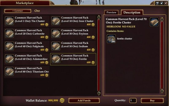 EQ2X Common Crafting Ingredients 550x344