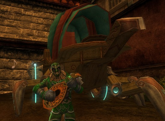 DDO Armonica The Warforged Welcome Wagon 550x403