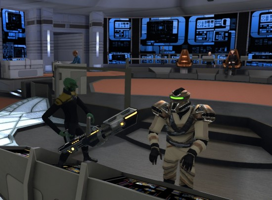 Star Trek Online Breen Bridge Officer Bek 550x405