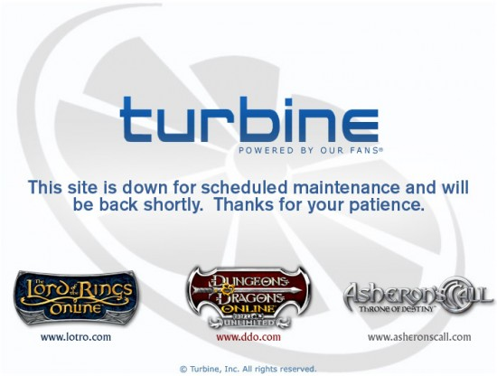 Turbine Maintenance Screen 550x416
