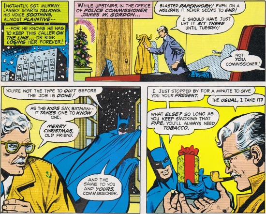 Batman Commissioner Gordon Tobacco Christmas