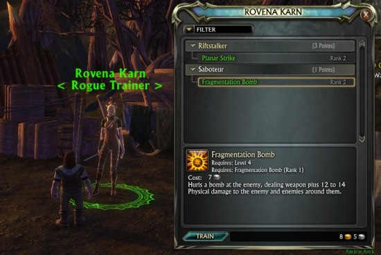 Rift Rogue Skill Trainer 550x369