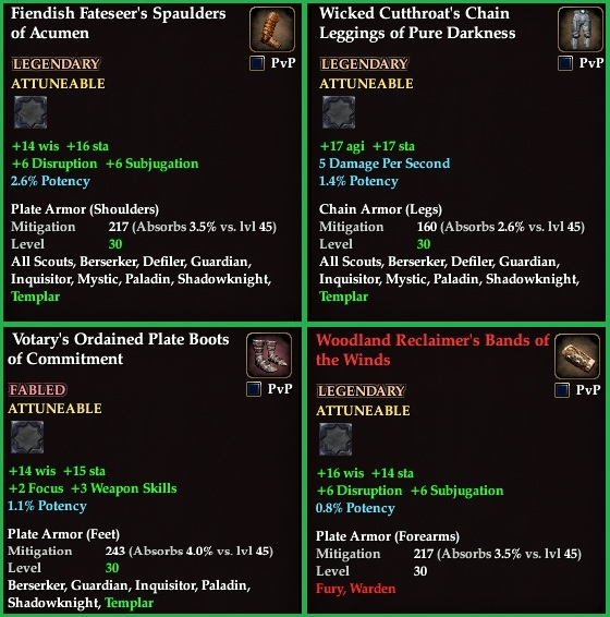 EQ2 Enchanted Lands Named Loot Item Revamp