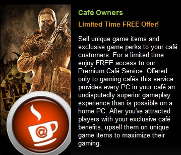 GamersFirst Premium Cafe Service