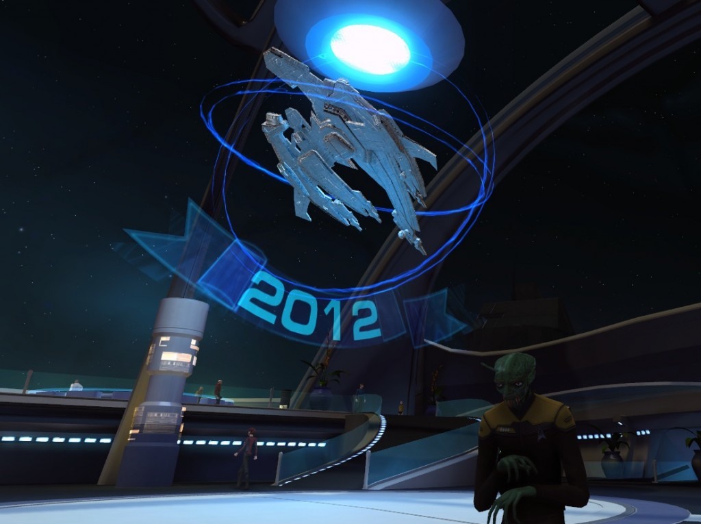 Star Trek Online Christmas Breen Chel Grett Starbase